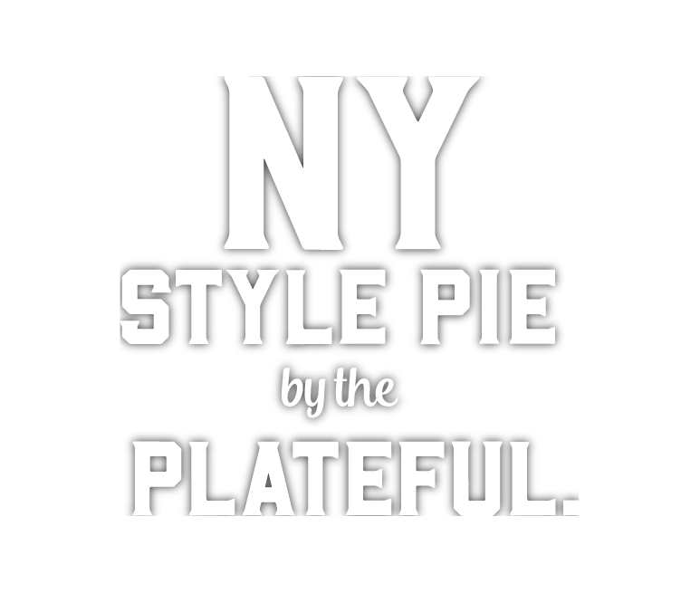 NY Style Pie by the Plateful